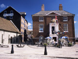 The Old Customs House, Now a Pavement Cafe, Poole, Dorset, England, United Kingdom Photographic Print by Ruth Tomlinson