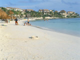 Beach Near Las Perlas, Cancun, Quintana Roo, Yucatan, Mexico, North America Photographie par Adina Tovy