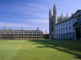 Lawn and Chapel, King's College, Cambridge, Cambridgeshire, England, United Kingdom Photographic Print by Ruth Tomlinson