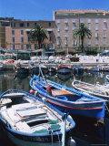 Small Fishing Boats, Ajaccio, Corsica, France, Mediterranean Photographic Print by Guy Thouvenin