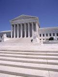 Exterior of the Supreme Court of Justice, Washington D.C., USA Fotografie-Druck von I Vanderharst