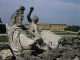 Schonbrunn Palace, Unesco World Heritage Site, Near Vienna, Austria Photographic Print by Julia Thorne