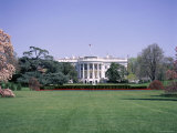 The White House, Washington D.C., United States of America (Usa), North America Fotodruck von I Vanderharst