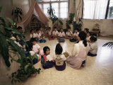 Primary School, Bangkok, Thailand, Southeast Asia Photographic Print by Liba Taylor