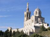 Notre Dame De La Garde, Marseille, Bouches-Du-Rhone, Provence, France Photographic Print by Guy Thouvenin