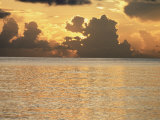 Tropical Sunset, Cayman Islands, West Indies, Central America Photographic Print by Ruth Tomlinson