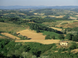 View Across Agricultural Landscape, San Gimignano, Tuscany, Italy Photographic Print by Ruth Tomlinson