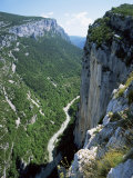River Verdon in the Grand Canyon of the Verdon, Alpes-De-Haute-Provence, Provence, France Photographie par Ruth Tomlinson