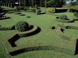 Le Jardin Francais (French Garden), Les Jardins d'Eyrignac, Perigord, Aquitaine, France Photographic Print by Guy Thouvenin