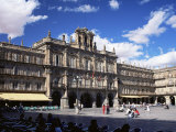 The Town Hall in the Plaza Mayor, Salamanca, Castilla Y Leon, Spain Photographic Print by Ruth Tomlinson