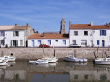 Quai Cassard, Ile De Noirmoutier, Brittany, France Photographic Print by Guy Thouvenin