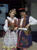 Traditional Dress, Poland Photographic Print by Adina Tovy