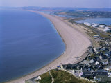Portland and Chesil Beach, Dorset, England, United Kingdom Photographic Print by Adina Tovy
