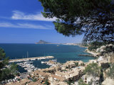 View Southwards Over Marina, Altea, Alicante, Costa Blanca, Spain, Mediterranean Photographic Print by Ruth Tomlinson