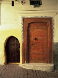 Doors in the Medina, Tangiers, Morocco, North Africa, Africa Photographic Print by Guy Thouvenin