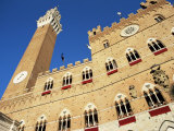 The Torre Del Mangia and Palazzo Pubblico on Palio Day, Siena, Tuscany, Italy Photographic Print by Ruth Tomlinson