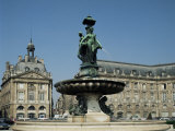 Monument Aux Girondins, Bordeaux, Aquitaine, France Photographic Print by Adina Tovy