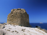 Clifftop Ruin at the Punta De L'Escaleta, Benidorm, Valencia, Spain Photographic Print by Ruth Tomlinson