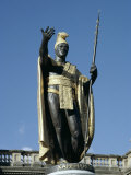 King Kamehameha Statue, Honolulu, Hawaii, Hawaiian Islands, USA Photographic Print by Adina Tovy