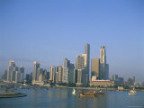 City Skyline, Singapore, Southeast Asia Photographic Print by Adina Tovy