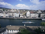 General View from Lindenhof, Zurich, Switzerland Photographic Print by Guy Thouvenin