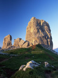 Cinque Torri at Sunset, Near Cortina d'Ampezzo, Dolomites, Veneto, Italy Photographic Print by Ruth Tomlinson