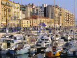 The Harbour, Nice, Cote d'Azur, Alpes-Maritimes, Provence, France Photographic Print by Guy Thouvenin