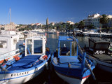 Fishing Boats in the Harbour, Sanary-Sur-Mer, Var, Cote d'Azur, Provence, France Photographic Print by Ruth Tomlinson
