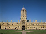 Christ Church College, Oxford, Oxfordshire, England, United Kingdom Photographic Print by Adina Tovy