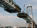 Bridge Under Construction, Japan Photographic Print by Adina Tovy