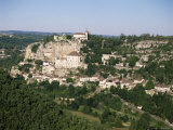 Rocamadour, Dordogne, Midi-Pyrenees, France Photographic Print by Adina Tovy