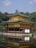 Kinkaku Temple (Golden Pavilion), Rokuon-Ji Temple, Unesco World Heritage Site, Kyoto, Japan Photographic Print by Adina Tovy