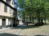 The Cobbled Medieval Square of Elm Hill, Norwich, Norfolk, England, United Kingdom Photographic Print by Ruth Tomlinson