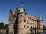 Castle, Odense, Island of Funen (Fyn), Denmark, Scandinavia Photographic Print by Adina Tovy