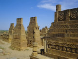 Makli Hill Tombs, Unesco World Heritage Site, Thatta, Sind (Sindh), Pakistan Photographic Print by Doug Traverso