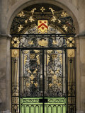 Ornate Gilt Gate of All Souls' College, Oxford, Oxfordshire, England, United Kingdom Photographic Print by Ruth Tomlinson