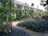 Monet's House and Garden, Giverny, Haute Normandie (Normandy), France Photographic Print by I Vanderharst