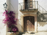 Picturesque Doorway, Altafulla, Tarragona, Catalonia, Spain Photographic Print by Ruth Tomlinson