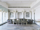 Conference Room, Devi Garh Fort Palace Hotel, Near Udaipur, Rajasthan State, India Photographic Print by John Henry Claude Wilson