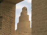 Al Malwuaiya Tower (Malwiya Tower), Samarra, Iraq, Middle East Photographic Print by Nico Tondini
