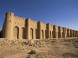 Fort, Al Ukhaidhir (Al Ukhaidir), Iraq, Middle East Photographic Print by Nico Tondini