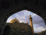 Hussein's Mosque, Karbala (Kerbela), Iraq, Middle East Photographic Print by Nico Tondini