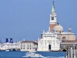 San Giorgio Maggiore Church, Venice, Unesco World Heritage Site, Veneto, Italy Photographic Print by Guy Thouvenin