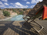 Restcamp Pool in Mapungubwe National Park, Limpopo Province, South Africa, Africa Photographic Print by Steve & Ann Toon