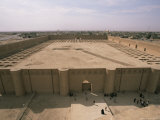 Al Malwuaiya Court, Samarra, Iraq, Middle East Photographic Print by Nico Tondini