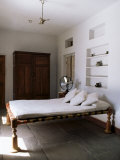 Bedroom with Traditional Low Slung Bed or Charpoy in a Home in Amber, Near Jaipur, India Photographic Print by John Henry Claude Wilson
