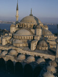 Sultan Ahmet I Mosque (The Blue Mosque), Unesco World Heritage Site, Istanbul, Turkey Photographic Print by John Henry Claude Wilson