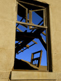 Detail of a Ruined Building in Diamond Mining Ghost Town, Namib Desert, Namibia Photographic Print by Steve & Ann Toon