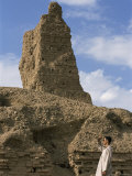 Nabu's Temple, Borsippa, Iraq, Middle East Photographic Print by Nico Tondini
