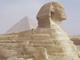 The Sphinx and Chephren Pyramid Beyond, Giza, Unesco World Heritage Site, Near Cairo, Egypt Photographic Print by Nico Tondini